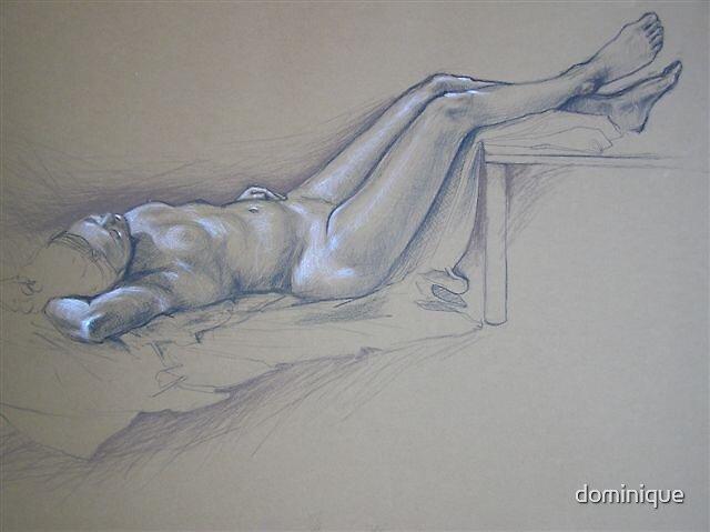 allongée by dominique