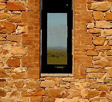 Stone Work, Cottage Ruin,Outback Australia by Joe Mortelliti