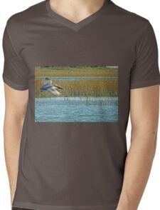 Gliding For Food Mens V-Neck T-Shirt