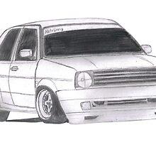 "MK2 VW Golf ""Renegade"" by SpoonaJay21"