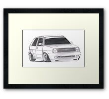 "MK2 VW Golf ""Renegade"" Framed Print"