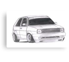 "MK2 VW Golf ""Renegade"" Canvas Print"