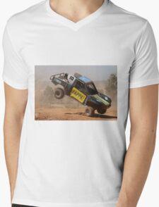 Tipping Trophy Kart Mens V-Neck T-Shirt