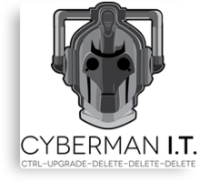 Cyberman I.T. Canvas Print