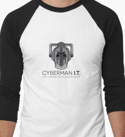 Cyberman I.T. Men's Baseball ¾ T-Shirt