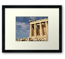 The Acropolis Framed Print