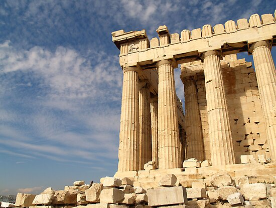 The Acropolis by Imogene Munday