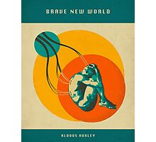 BRAVE NEW WORLD Photographic Print