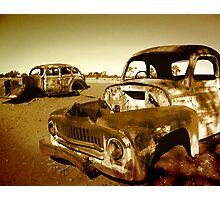 Rust Treatment Photographic Print