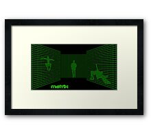 Matrix II Framed Print
