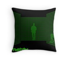 Matrix II Throw Pillow