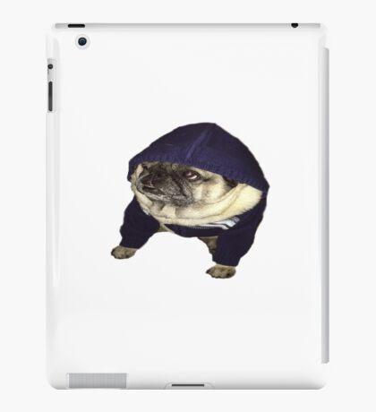 Puggys hoody iPad Case/Skin