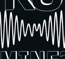 R U Mine? Blck/Wht/Blck Sticker