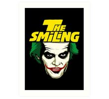The Smiling Art Print