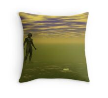 Rusty V Throw Pillow