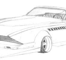 "Bosozoku 1975 Cadillac Eldorado ""Mid-west Mayhem"" by SpoonaJay21"