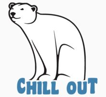 Chill Out Polar Bear by TheShirtYurt