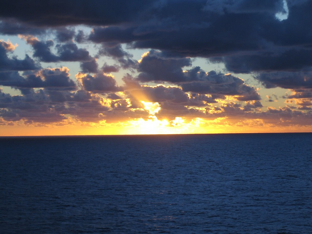 South Pacific Sunset by nicky