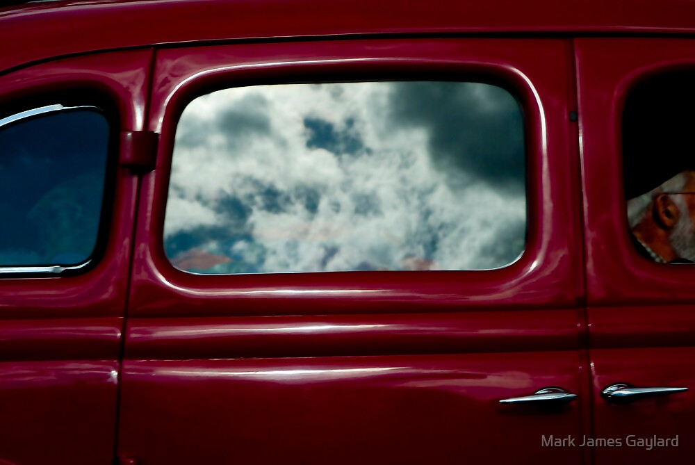 the drive by Mark James Gaylard
