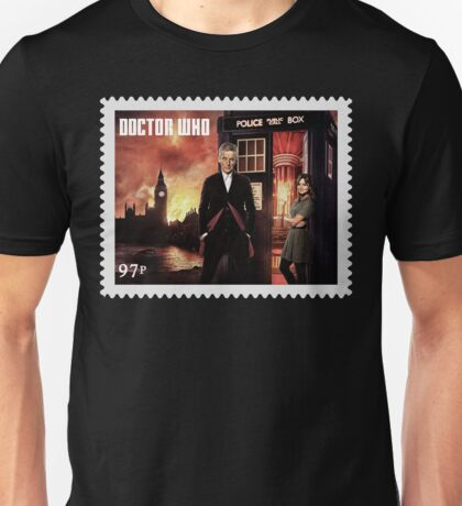 Doctor Who Postage Stamp Unisex T-Shirt