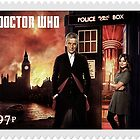 Doctor Who Postage Stamp by kayve
