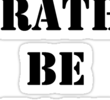 Right Now, I'd Rather Be Kayaking - Black Text Sticker