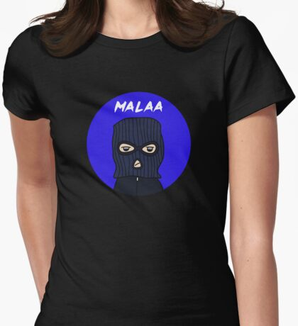 Malaa Womens Fitted T-Shirt
