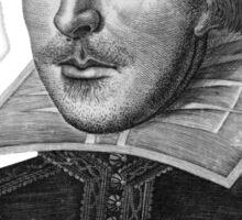 William Shakespeare Will Power Sticker