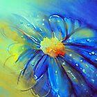 Blue Flower Offering by Allison Ashton
