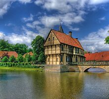 Entrance to Castle Burgsteinfurt by Christiaan