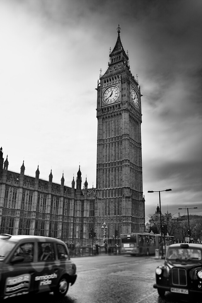 Big Ben by Rob Hadfield
