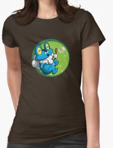Bubbles for Froakie Womens Fitted T-Shirt