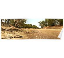 Tha Dry Darling River at Louth Poster