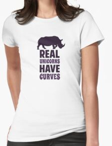 Real Unicorns Have Curves T-Shirt