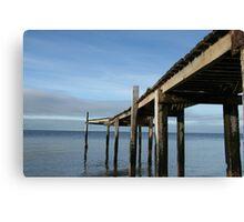 Pier at Campbells Cove Canvas Print
