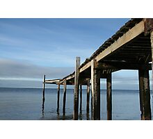 Pier at Campbells Cove Photographic Print