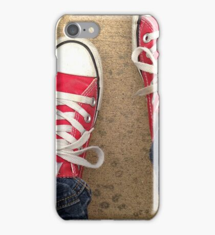 Don't Chuck the Red Chucks iPhone Case/Skin