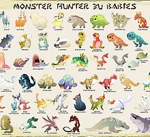 Monster Hunter 3U Babies by Iodrome