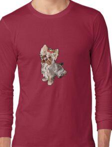 Yorkie Long Sleeve T-Shirt