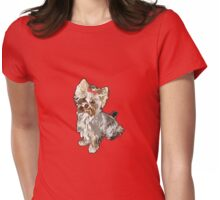 Yorkie Womens Fitted T-Shirt