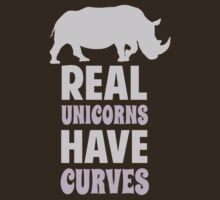 Real Unicorns Have Curves by TheShirtYurt