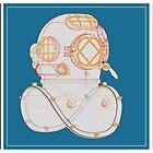 Diving helmet Mark V by andreisky