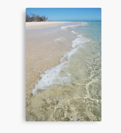 Pure Beach Canvas Print
