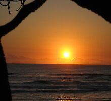 Sunrise Surfers Paradise Beach by Rohana