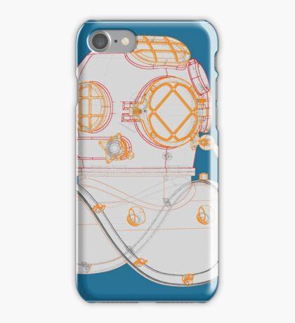 Diving helmet Mark V iPhone Case/Skin