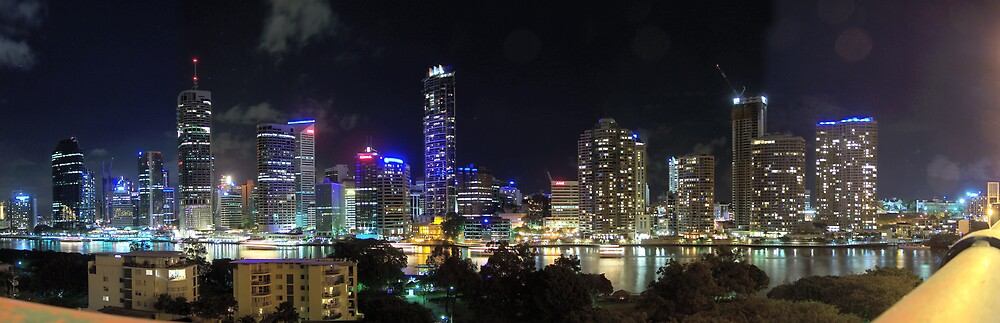 Brisbane From the Story Bridge. by aperture
