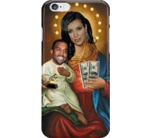 The Virgin Pornstar & Yeezus iPhone Case/Skin