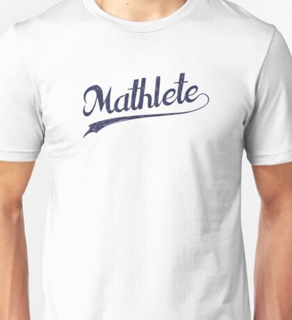 All Star Mathlete Math Athlete Unisex T-Shirt