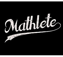 All Star Mathlete Math Athlete Photographic Print