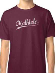 All Star Mathlete Math Athlete Classic T-Shirt